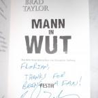 """Signiertes """"Mann in Wut"""""""