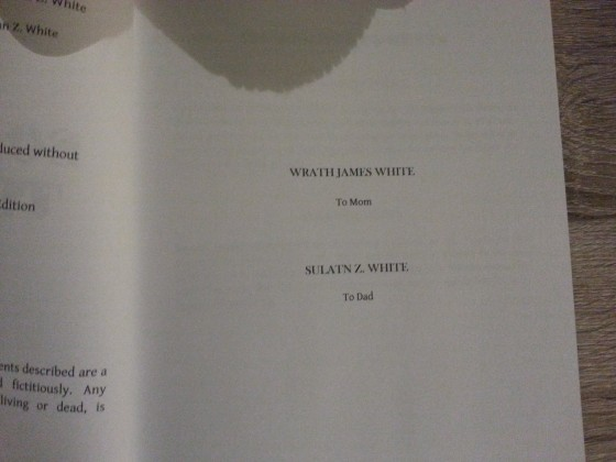 Wrath J. & Sultan Z. White - Something Terrible Limited - Thunderstorm Books