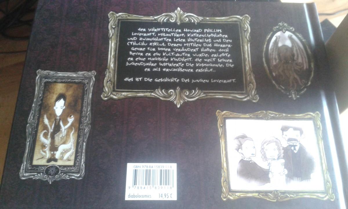 """Der junge Lovecraft """"Back"""""""