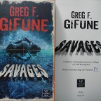 """Savages"" - Greg F. Gifune (Voodoo Press)"