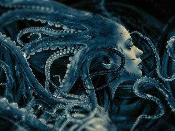 Schutzumschlag für Band 1 von 3 der Lovecraft-Zusammenarbeiten.