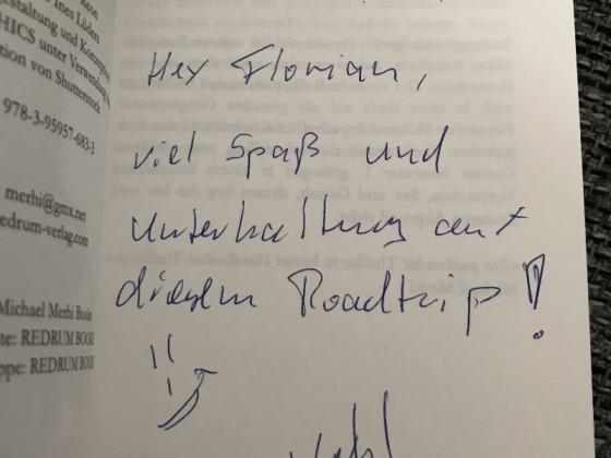 """Signiertes """"Runaways"""" von Alexander Kühl"""