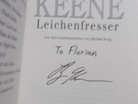 Brian Keene's Leichenfresser - signiert