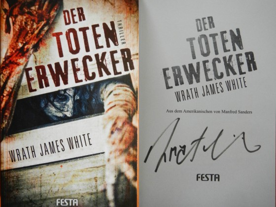 """Der Totenerwecker"" - Wrath James White (Signiert)"