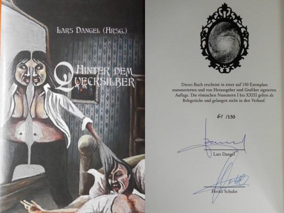 """""""Hinter dem Quecksilber"""" - Lars Dangel (Hrsg.) (Edition CL)"""