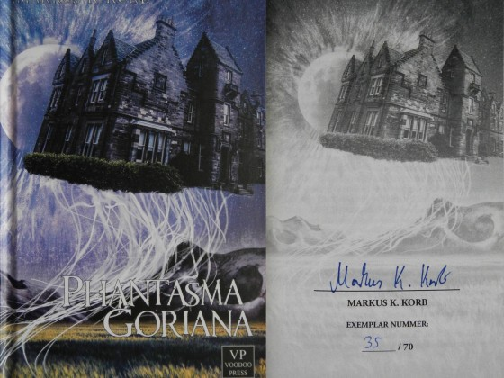"""Phantasma Goriana"" - Markus K. Korb (Voodoo Press)"