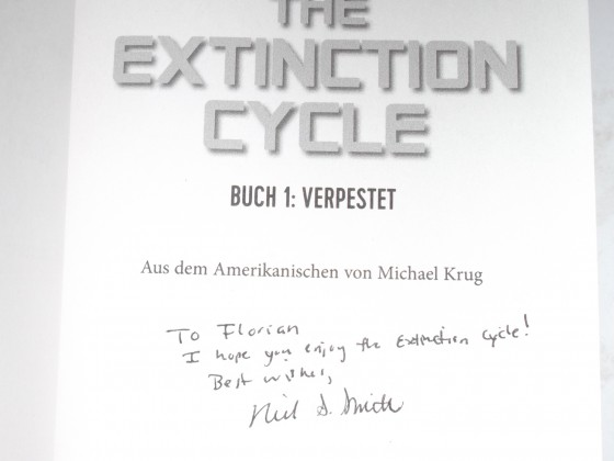 "Signiertes ""Extinction Cycle 1"""