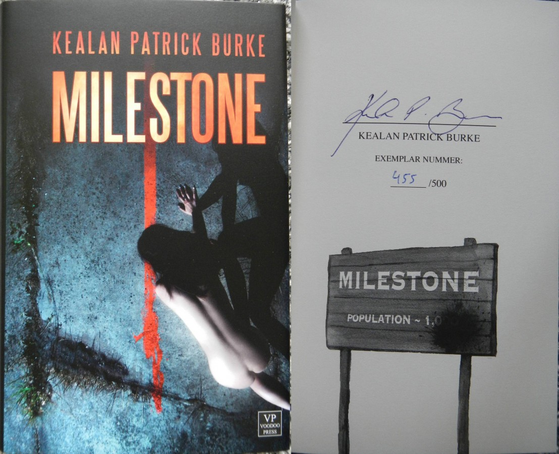 """Milestone"" - Kealan Patrick Burke (Voodoo Press)"