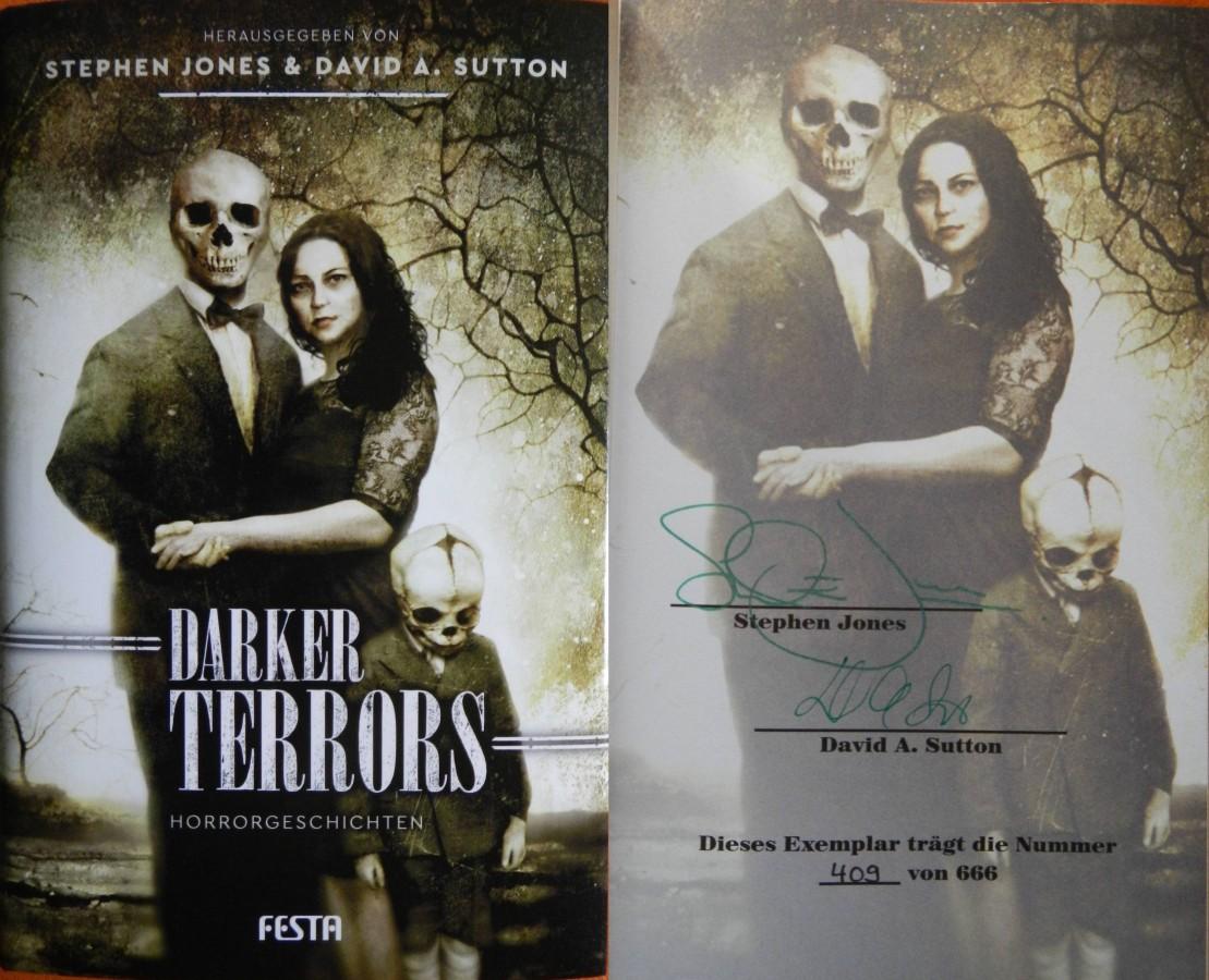 """""""Darker Terrors"""" - Stephen Jones & David A. Sutton (Hg.)"""