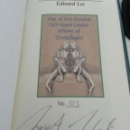 The Teratologist - signed and numbered interview edition