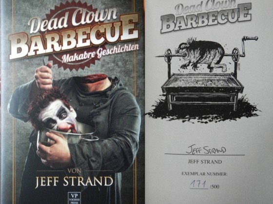 """Dead Clown Barbecue"" - Jeff Strand (Voodoo Press)"