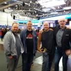 Frank Festa, Hardy Kettlitz, Torsten Scheib und Wolfgang Brandt (Danke fürs Foto Anke & Wolfgang).