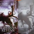 """""""Die Chronik des Schwarzen Steins"""" - Scott R. Jones schreibt als Justine Geoffrey"""