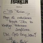 """Signierter """"Franklin"""" von Stefanie Maucher"""