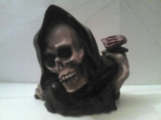 Skelettbüste