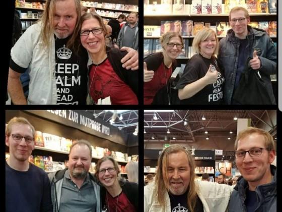 Die beiden hatten eine sooo lange Anreise. Danke an euch: Adrian Wienekamp und Silvia Vilts