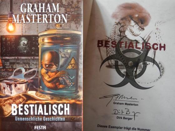 """""""Bestialisch"""" - Graham Masterton"""