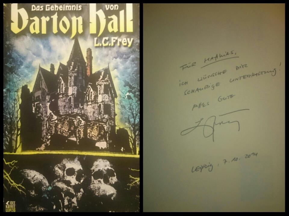 L. C. Frey - Das Geheimnis von Barton Hall