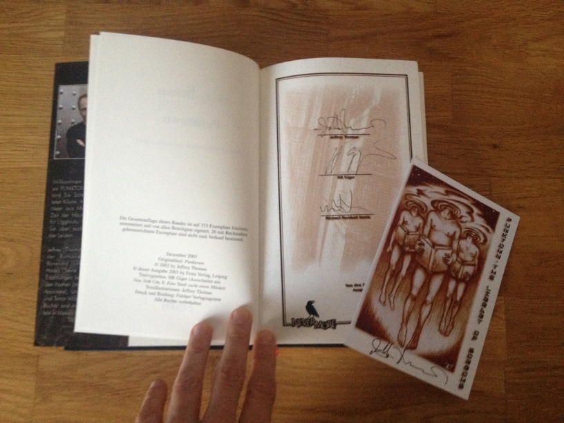 Jeffrey Thomas - Punktown Unterschriften (Nevermore Band 1)