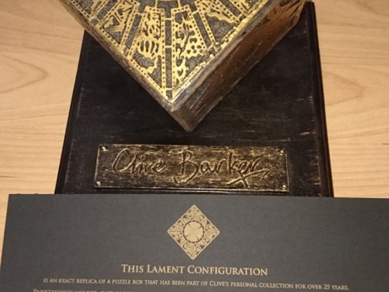 Lament Configuration Top mit Zertifikat