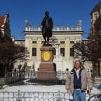 Goethe und Edward Lee ... Naschmarkt in Leipzig