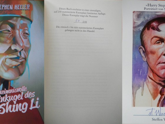 """Die geheimnisvolle Elfenbeinkugel des Wong Shing Li"" - Harry Stephen Keeler (Edition Phantasia)"