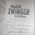 Frauenzwinger – signiert von Brett Williams