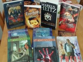 Geburtstagsbücher (z.T. Eigengeschenke^^)