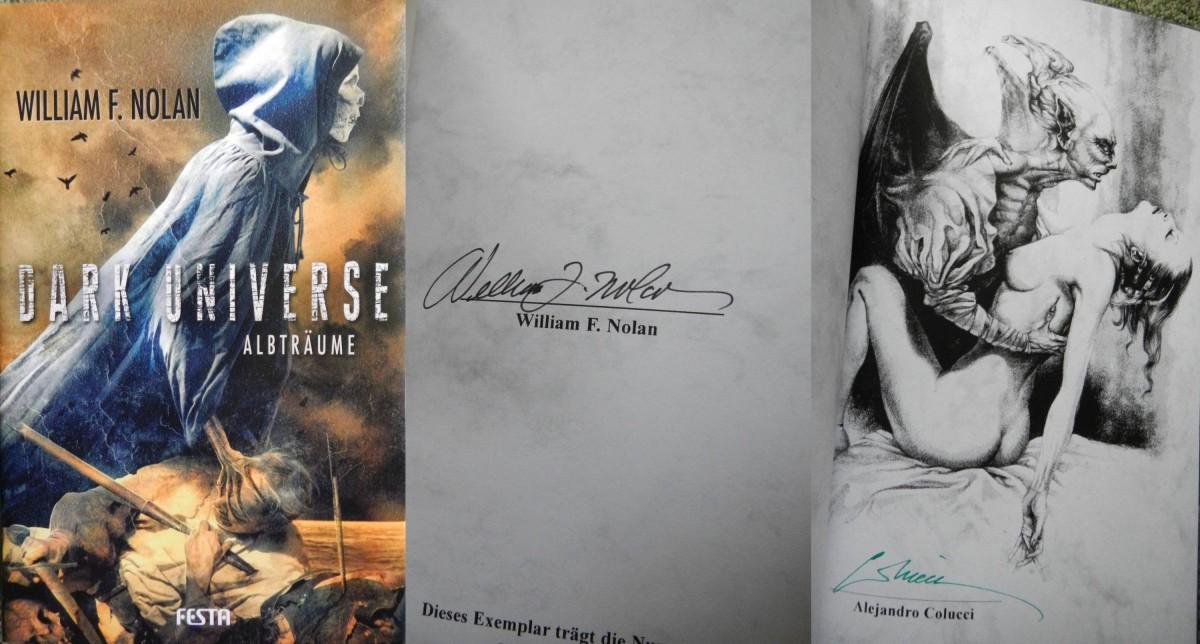 """Dark Universe: Albträume"" - William F. Nolan"