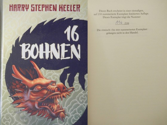 """16 Bohnen"" - Harry Stephen Keeler (Edition Phantasia)"