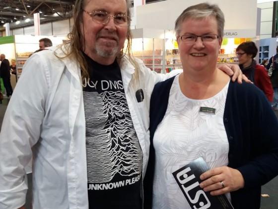 Erinnerungsfoto mit Anke Brand (Geisterspiegel.de).