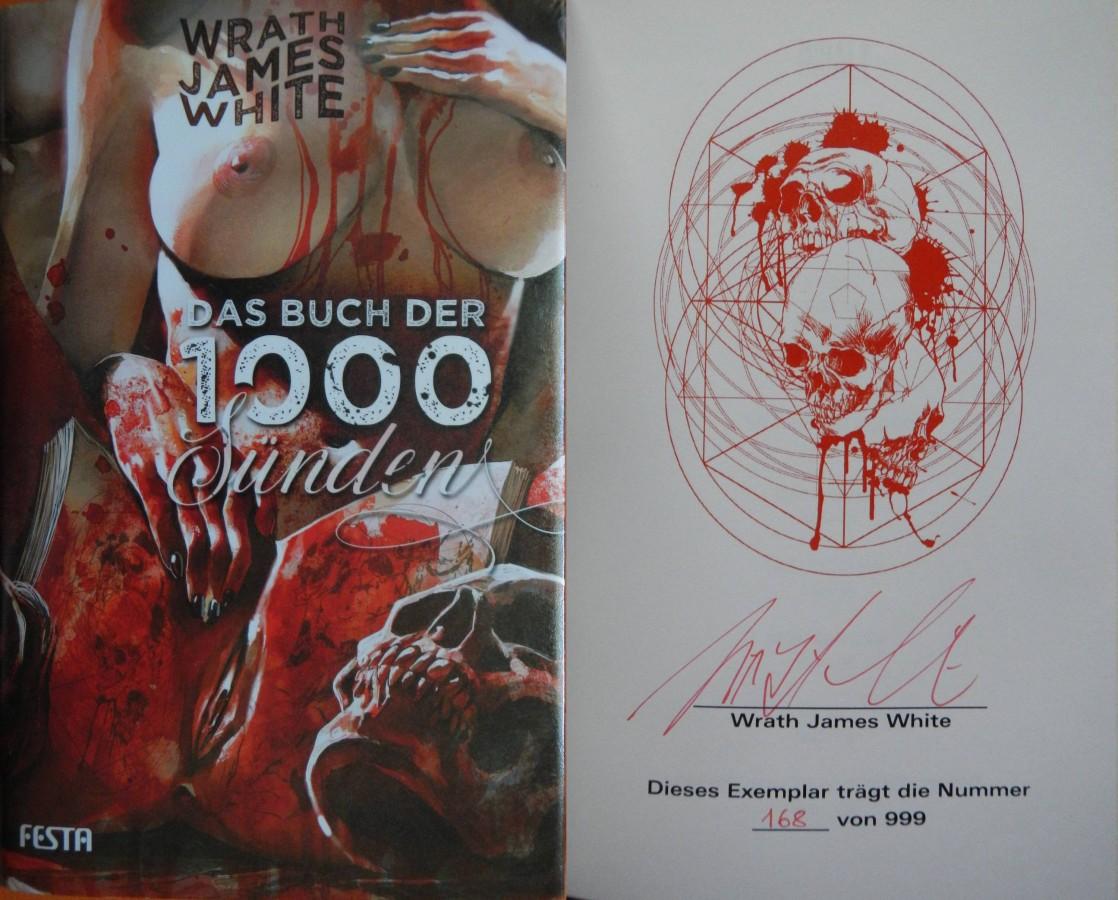 """""""Das Buch der 1000 Sünden"""" - Wrath James White"""