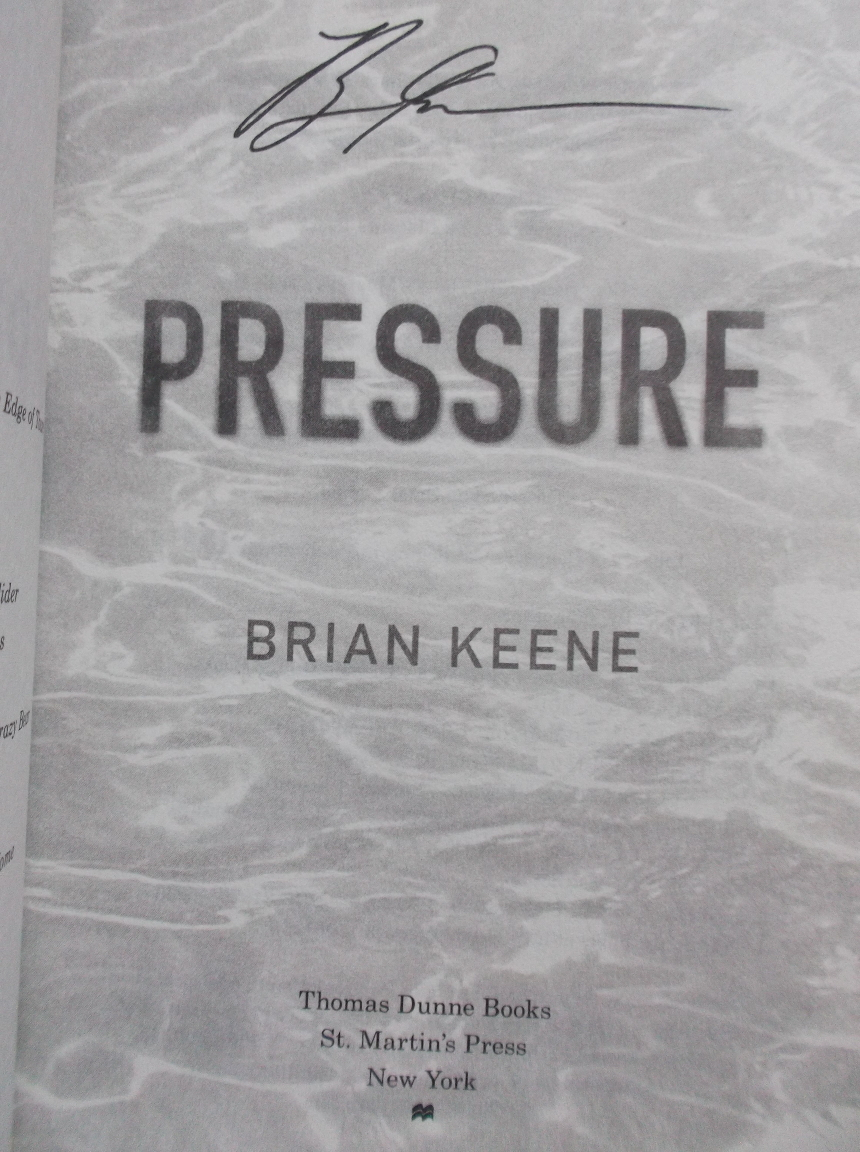 Brian Keene's Pressure - Signiert