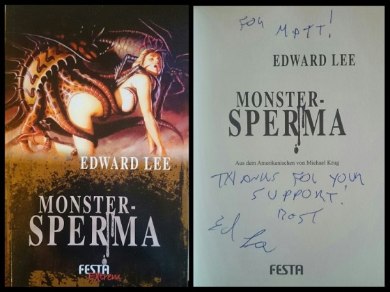 Edward Lee - Monstersperma