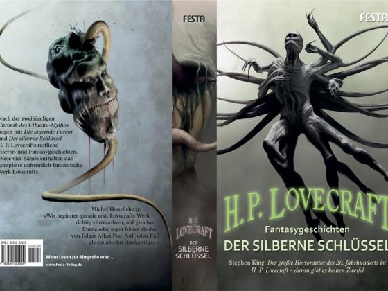 Lovecraft - Der silberne Schlüssel - Umschlag