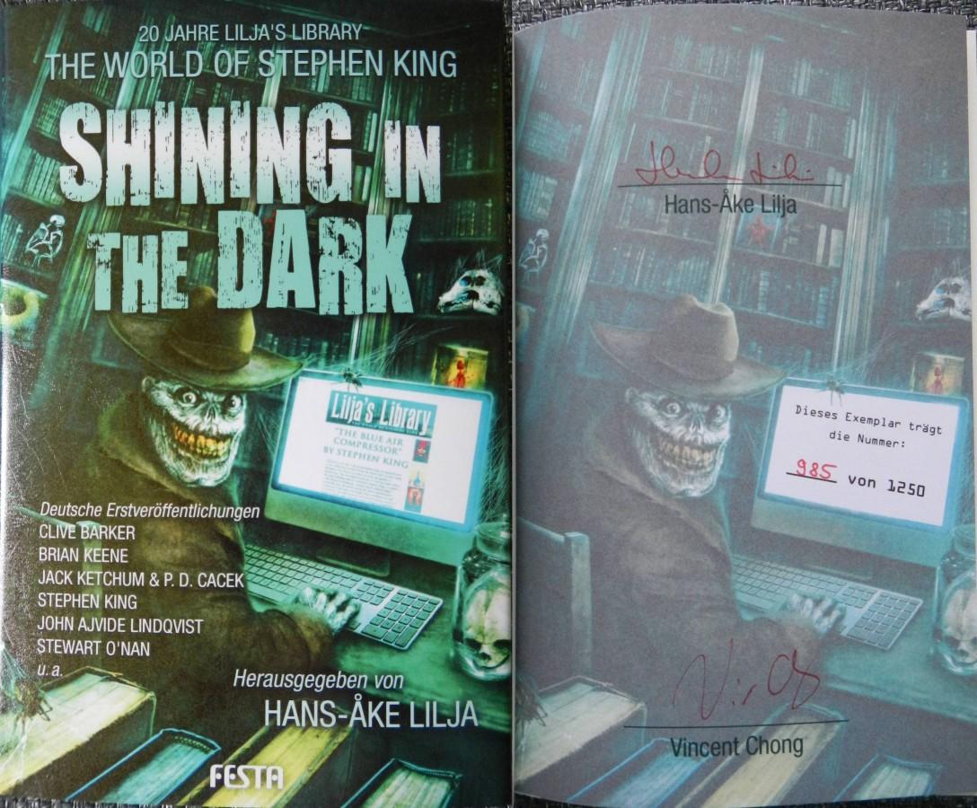 """Shining in the Dark - The World of Stephen King"" - Hans-Åke Lilja (Hg.)"