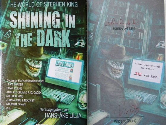 """Shining in the Dark - The World of Stephen King"" - Hans-Åke Lilja (Hg.)"