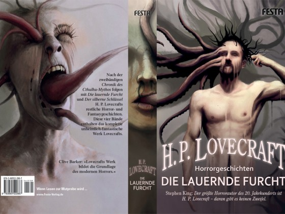 Lovecraft - Die lauernde Furcht - Umschlag
