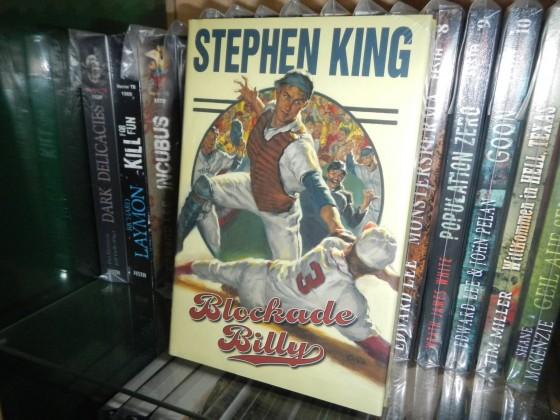 """""""Blockade Billy"""" - Stephen King 1. Auflage mit Baseballkarte OVP (Bild 1)"""