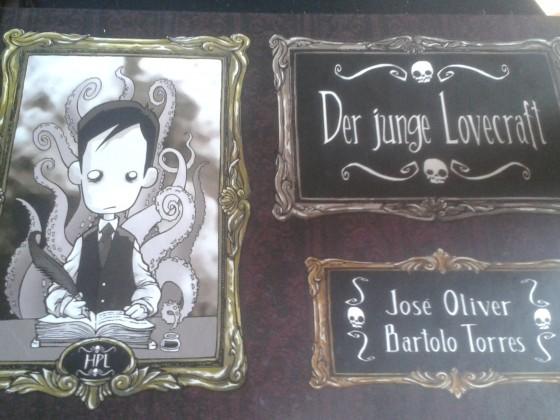 """Der junge Lovecraft """"Cover"""""""