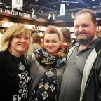 Lisa Jungke war am Samstag mit ihrem Mann bei uns.