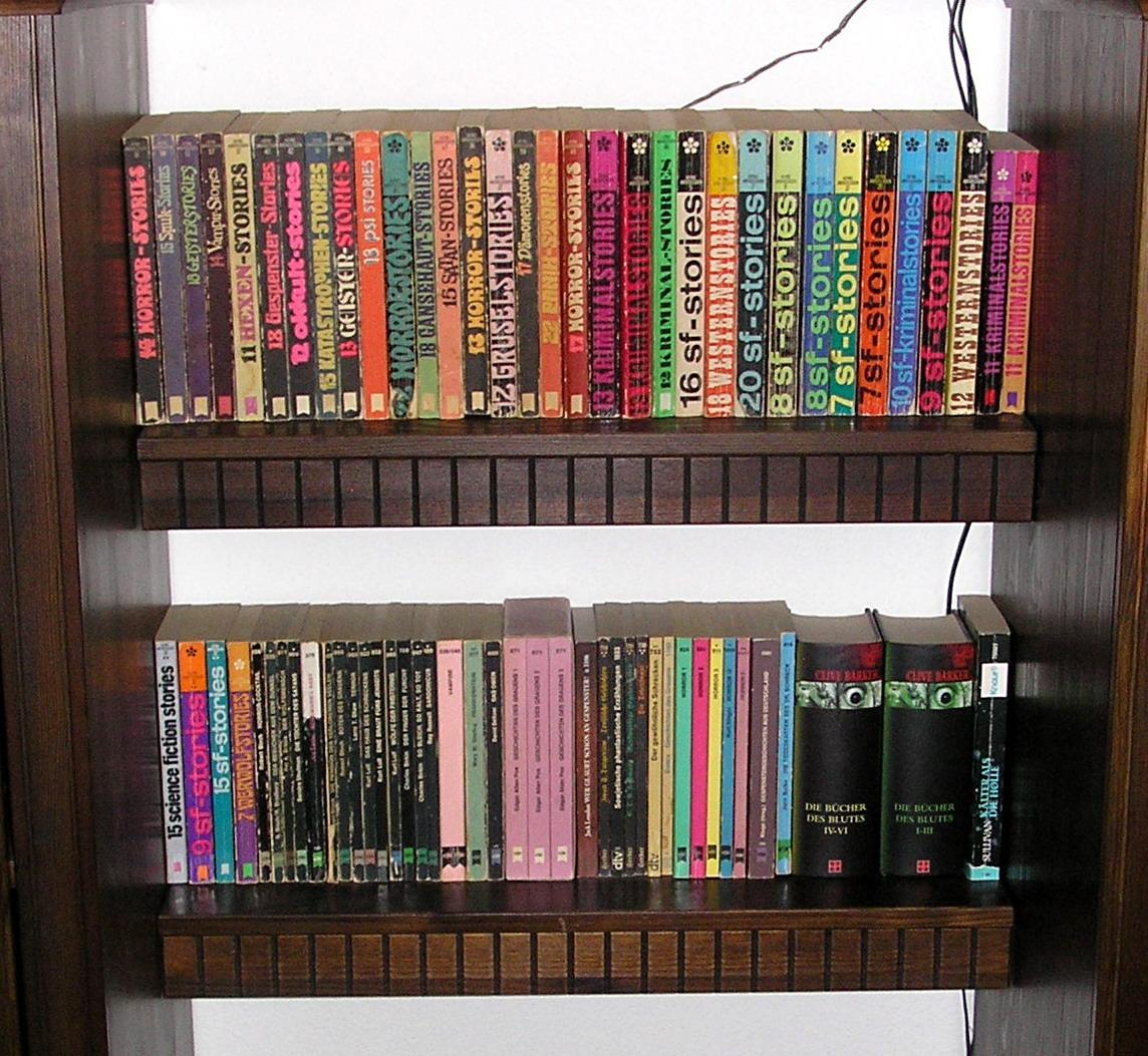 Büchereck im Wohnzimmer