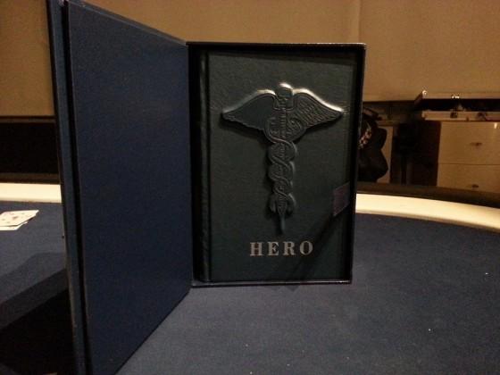 Hero - Tray opened