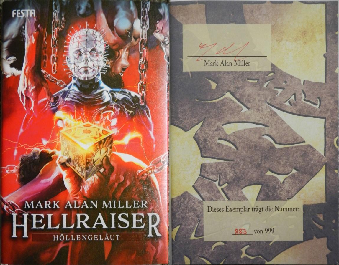 """Hellraiser - Höllengeläut"" - Mark Alan Miller"