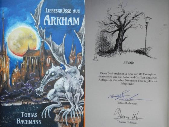 """Liebesgrüße aus Arkham"" - Tobias Bachmann (Edition CL)"